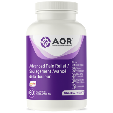 AOR Advanced Pain Relief (Formerly Fem Ease), 60 Vegetable Capsules | NutriFarm.ca