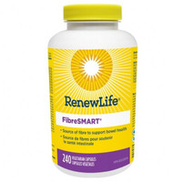 RENEW LIFE FibreSMART, 240 Vegetable Capsules | NutriFarm.ca