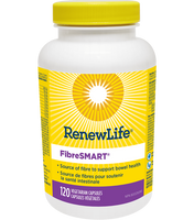 RENEW LIFE FibreSMART, 120 Vegetable Capsules | NutriFarm.ca
