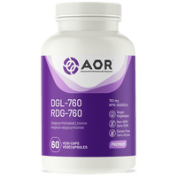 AOR DGL-760, 60 Vegetable Capsules | NutriFarm.ca