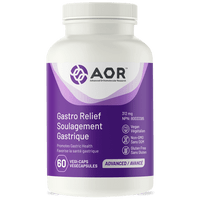 AOR Gastro Relief, 60 Vegetable Capsules | NutriFarm.ca