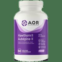 AOR Hawthorn II, 60 Vegetable Capsules | NutriFarm.ca