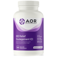 AOR IBD Relief, 120 Vegetable Capsules | NutriFarm.ca