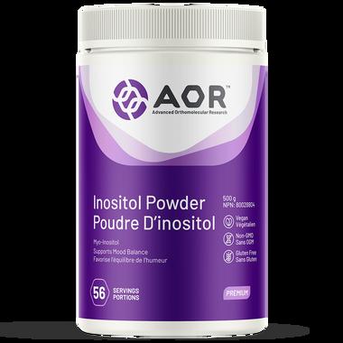 AOR Inositol, 500 g Powder | NutriFarm.ca