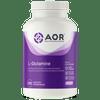 AOR L-Glutamine, 120 Vegetable Capsules | NutriFarm.ca