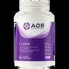 AOR L-Lysine, 150 Vegetable Capsules | NutriFarm.ca