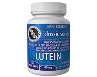 AOR Lutein, 60 Vegetable Capsules | NutriFarm.ca