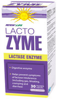 RENEW LIFE LactoZYME, 30 Vegetable Capsules | NutriFarm.ca
