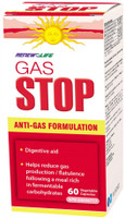 RENEW LIFE GasSTOP, 60 Vegetable Capsules | NutriFarm.ca