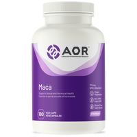AOR Maca, 180 Vegetable Capsules | NutriFarm.ca