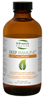 St. Francis Herb Farm Deep Immune for Allergies, 250 ml | NutriFarm.ca
