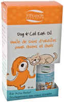 St. Francis Herb Farm Dog and Cat Ear Oil, 15 ml | NutriFarm.ca