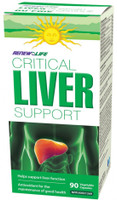 RENEW LIFE Critical Liver Support, 90 Vegetable Capsules | NutriFarm.ca