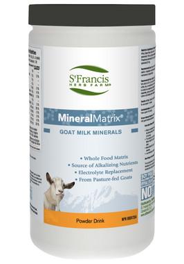 St. Francis Herb Farm Mineral Matrix Goat Whey, 720 g | NutriFarm.ca