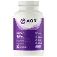 AOR SeMet, 90 Vegetable Capsules | NutriFarm.ca