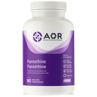 AOR Pantethine, 90 Vegetable Capsules | NutriFarm.ca