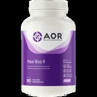 AOR Maxi Boz II, 90 Vegetable Capsules | NutriFarm.ca