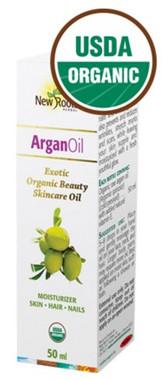 New Roots Argan Oil (Certified Organic), 50 ml   NutriFarm.ca