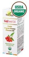 New Roots Goji Seed Oil (Certified Organic), 15 ml | NutriFarm.ca