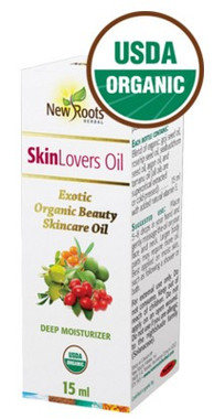 New Roots Skin Lovers Oil (Certified Organic), 15 ml | NutriFarm.ca