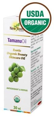 New Roots Tamanu Oil (Certified Organic), 30 ml | NutriFarm.ca