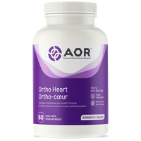 AOR Ortho Heart, 60 Vegetable Capsules | NutriFarm.ca