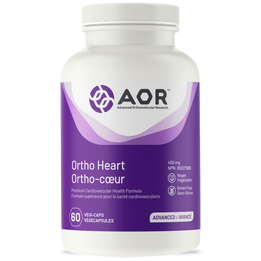 AOR Ortho Heart, 60 Vegetable Capsules | NutriFarm.ca
