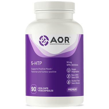 AOR 5 HTP, 90 Vegetable Capsules | NutriFarm.ca