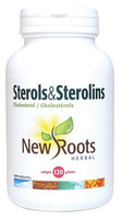 New Roots Sterols & Sterolins Cholesterol, 120 Softgels | NutriFarm.ca