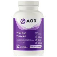 AOR VeinEase, 60 Vegetable Capsules | NutriFarm.ca