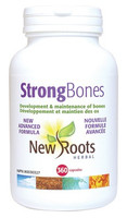 New Roots Strong Bones, 360 Capsules | NutriFarm.ca