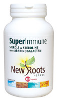 New Roots Super Immune Sterols & Sterolins, 120 Capsules | NutriFarm.ca
