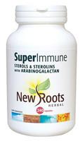 New Roots Super Immune Sterols & Sterolins, 240 Capsules | NutriFarm.ca