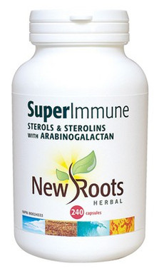 New Roots Super Immune Sterols & Sterolins, 240 Capsules | NutriFarm.ca
