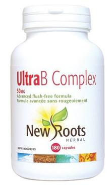 New Roots Ultra B Complex 50 mg, 180 Capsules | NutriFarm.ca