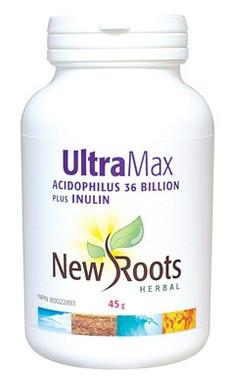 New Roots Ultra Max 36 Billion, 45 g   NutriFarm.ca