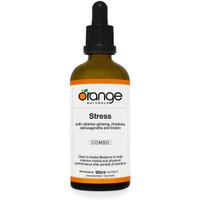 Orange Naturals Stress Tincture, 100 ml | NutriFarm.ca
