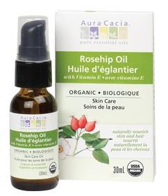 Aura Cacia Organic Rosehip Oil, 30 ml | NutriFarm.ca