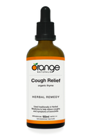 Orange Naturals Cough Relief Tincture, 100 ml | NutriFarm.ca
