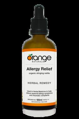 Orange Naturals Allergy Relief Tincture, 100 ml   NutriFarm.ca