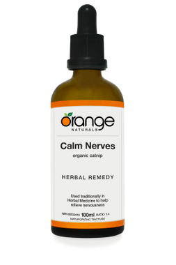Orange Naturals Calm Nerves Tincture, 100 ml   NutriFarm.ca