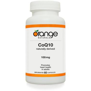 Orange Naturals Coenzyme Q10, 60 Capsules | NutriFarm.ca