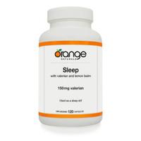 Orange Naturals Sleep with Valerian, 120 Capsules | NutriFarm.ca