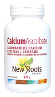 New Roots Calcium Ascorbate Crystals, 227 g | NutriFarm.ca