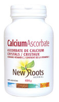 New Roots Calcium Ascorbate Crystals, 454 g | NutriFarm.ca