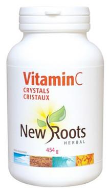 New Roots Vitamin C Crystals, 454 g | NutriFarm.ca
