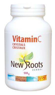 New Roots Vitamin C Crystals, 908 g | NutriFarm.ca