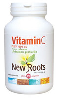 New Roots Vitamin C Plus 1000 mg, 250 Tablets | NutriFarm.ca