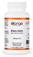 Orange Naturals Estro Calm Indole-3-Carbinol, 60 Vegetable Capsules | NutriFarm.ca