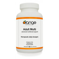 Orange Naturals Adult Multi, 60 Vegetable Capsule | NutriFarm.ca